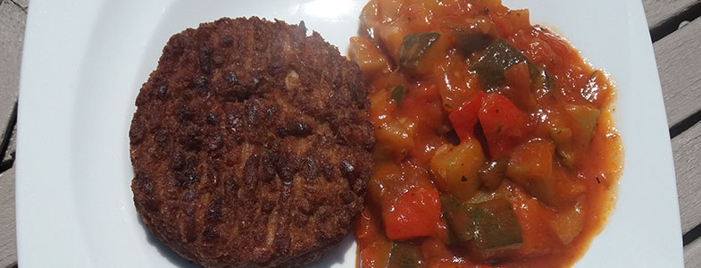 recette-vegetarienne-steak-vegetal-ratatouille