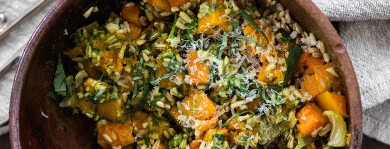 recette-vegetarienne-avoine-courge-fenouil