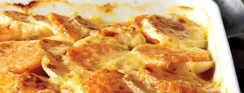 recette-vegetarienne-gratin-patate-douce-navet