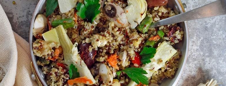 recette-vegetarienne-paella-quinoa