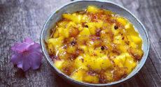 Poêlée de mangue poivrée