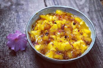recette-vegetarienne-poelee-mangue-poivree