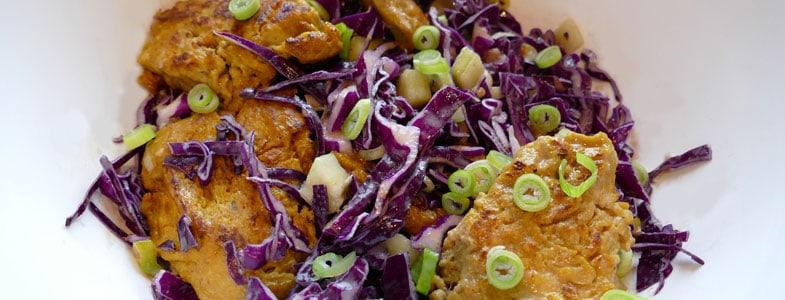 recette-vegetarienne-salade-seitan-curry-chou-rouge