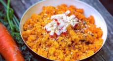 Taboulé acidulé de carottes