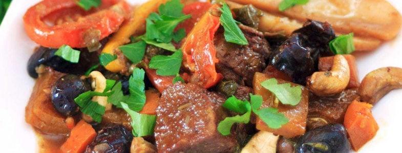 recette-vegetarienne-tagine-seitan-pruneaux