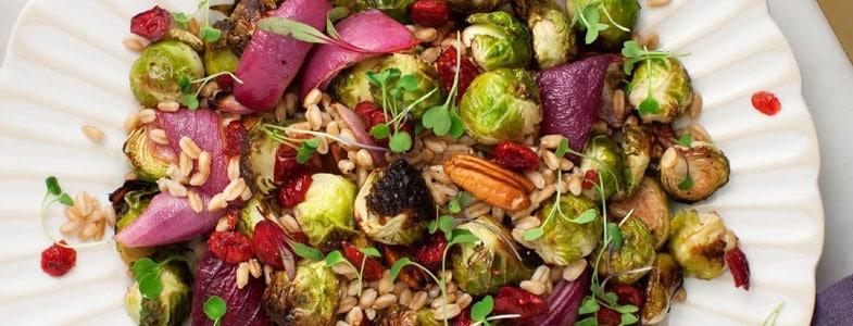 recette-vegetarienne-epeautre-choux-bruxelles-rotis