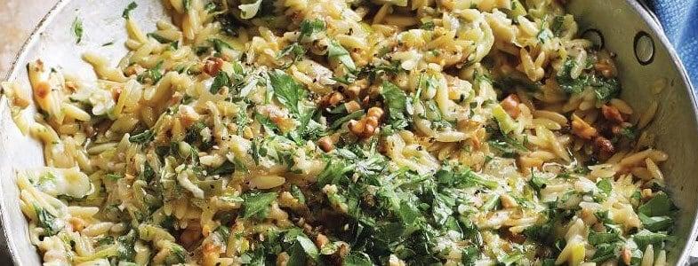 recette-vegetarienne-orsotto-poireau-gorgonzola