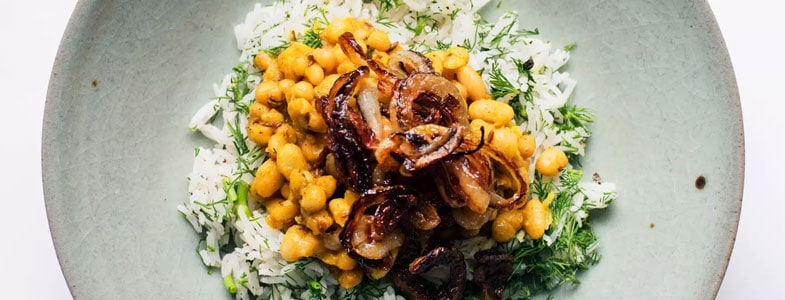 recette-vegetarienne-riz-aneth-haricots-blancs