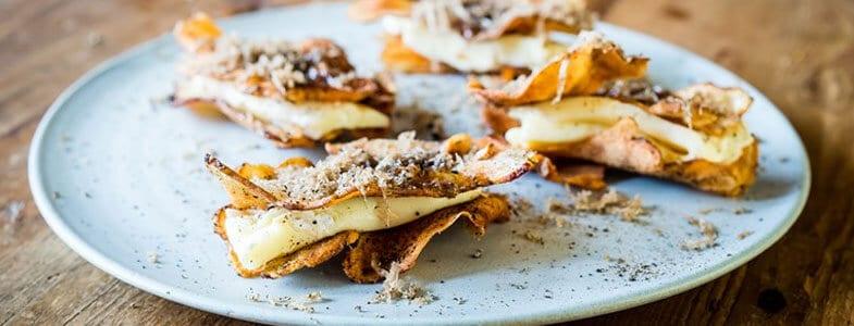 recette-vegetarienne-topinambour-brie-truffe-miel