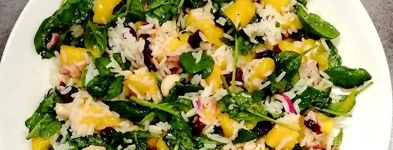 recette-vegetarienne-salade-automne-riz-mangue