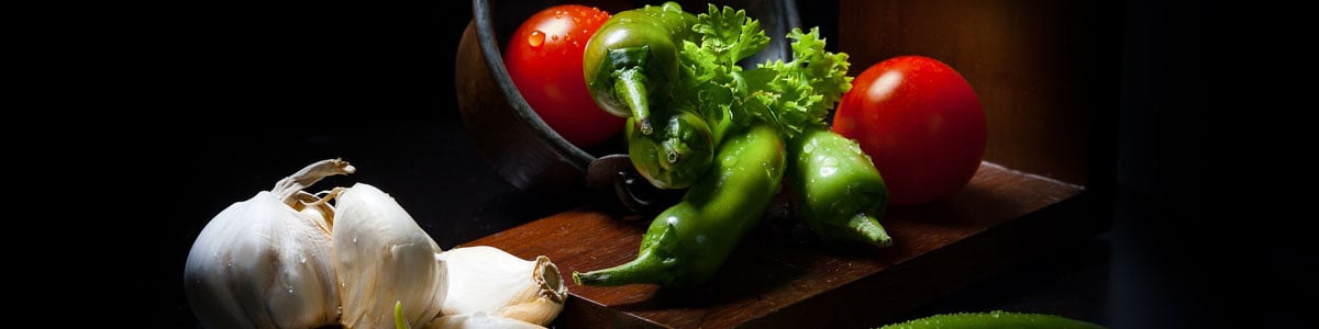 Menus végétariens pour le soir et le week-end