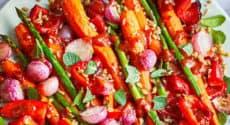 Menu végétarien - Semaine du 25 mars 2019