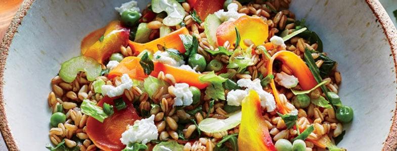 Menu végétarien – Semaine du 22 avril 2019