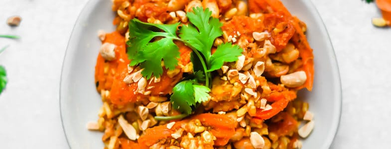 One pot riz et haricots blancs à la marocaine