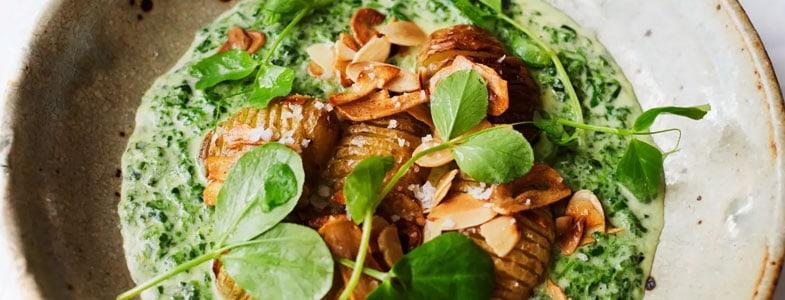 recette-vegetarienne-pommes-terre-roties-epinards-creme