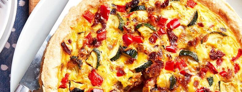 recette-vegetarienne-quiche-ratatouille