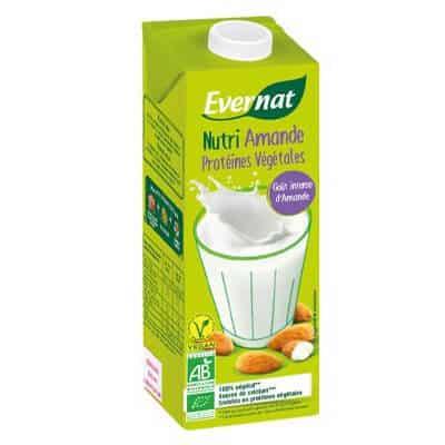 lait amande evernat