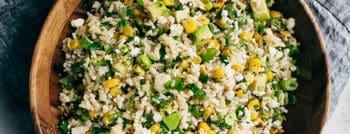 recette-vegetarienne-salade-avocat-mais-riz