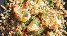 Couscous perlé au chou-fleur rôti