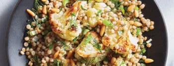 recette-vegetarienne-couscous-perle-chou-fleur-roti