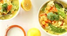 Curry de quinoa d'été