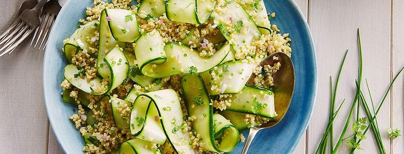 recette-vegetarienne-millet-rubans-courgette