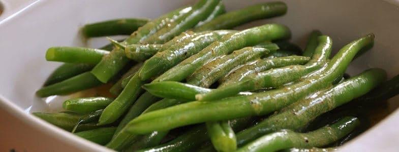 Haricots verts vinaigrette