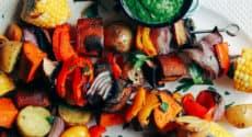 Menu végétarien . Semaine du 15 juillet 2019