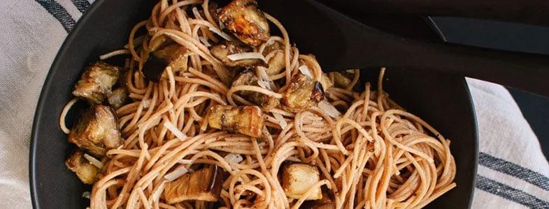 recette-vegetarienne-spaghettis-aubergines-beurre-miso