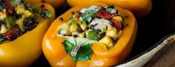 recette-vegetarienne-poivrons-farcis-lentilles-beluga