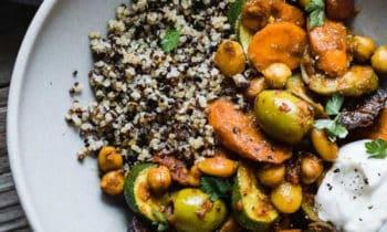 Tajine d'été au quinoa