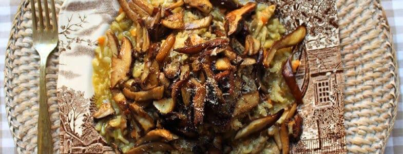 recette-vegetarienne-risotto-cepes