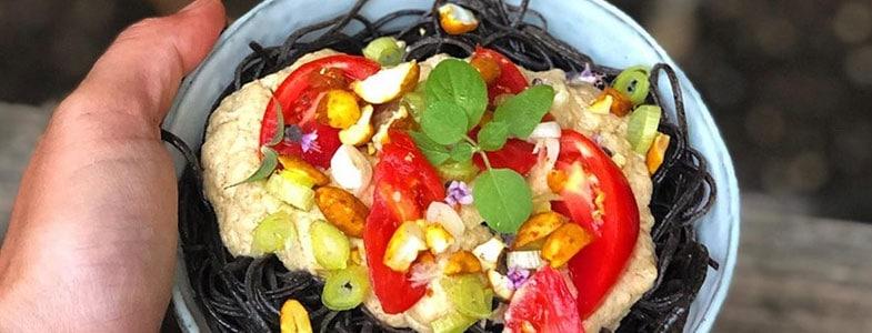 recette-vegetarienne-spaghettis-haricots-noirs-sauce-thai