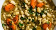 Flageolets aux carottes