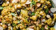 Quinoa à l'orientale