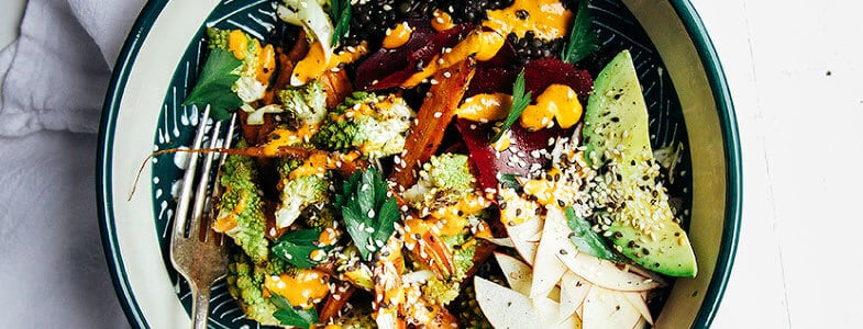 recette-vegetarienne-salade-lentilles-automne