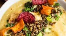 Menu végétarien - Semaine du 18 novembre 2019