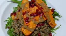 Lentilles et carottes épicées au tahin