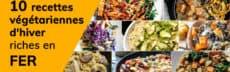 Les 10 recettes végétariennes d'hiver riches en fer