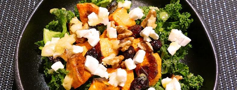 recette-vegetarienne-salade-patate-douce-cranberries