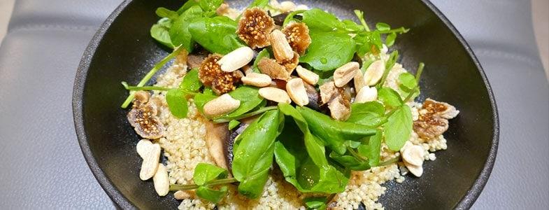 recette-vegetarienne-quinoa-champignons-cresson
