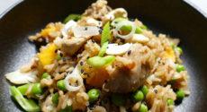 Riz thaï aux légumes et noix de cajou