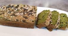 Cake léger aux blettes et graines