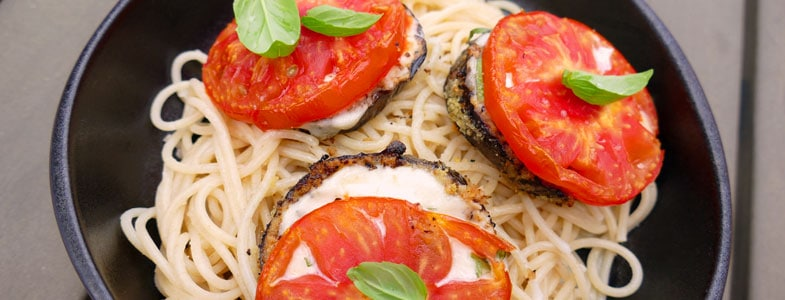 recette-vegetarienne-aubergines-panees-caprese