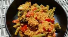Quinoa à la thaï