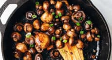 Champignons balsamique