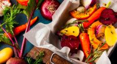 Recettes végétariennes faciles avec les fruits et légumes de décembre