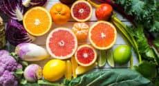 Recettes végétariennes faciles avec les fruits et légumes de janvier