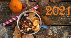 Menu végétarien . Semaine du 4 janvier 2021