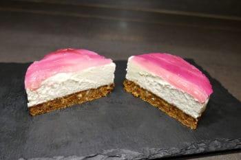 recette-vegetarienne-cheesecake-vegan-rhubarbe